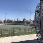 commercial cooling, baseball field