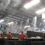 employee cooling solutions, dust suppression solutions
